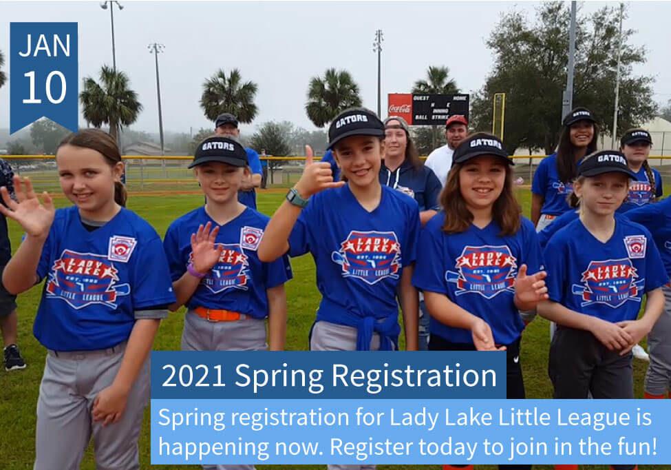 2021 Spring Little League Advert