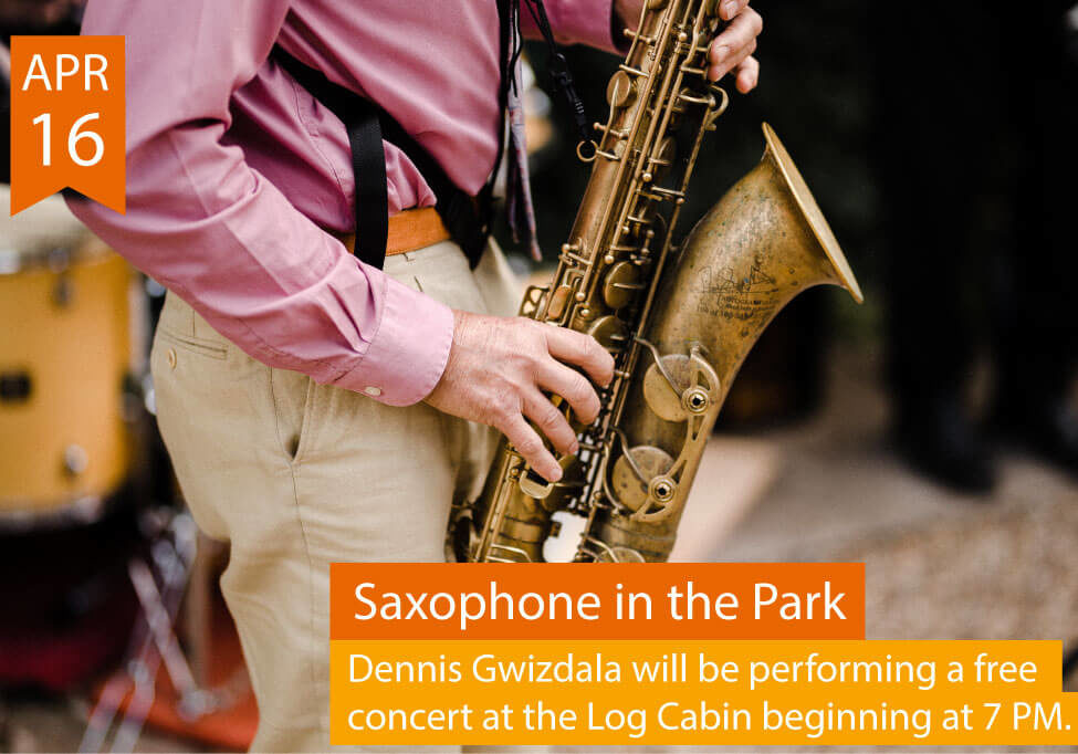 Saxophone in the Park Advert